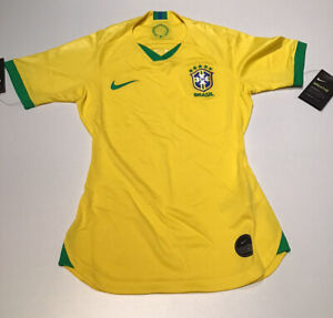 Brazil Women's Home Jersey 2019 Yellow Nike New with Tags XS-M-L-XL