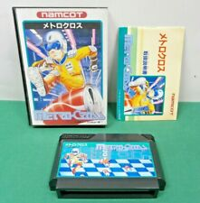 NES -- METRO CROSS -- Boxed. popular action. Famicom, Japan game. 10575