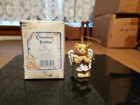 1992 Cherished Teddies 950777 Angel Hanging Ornament w/ box