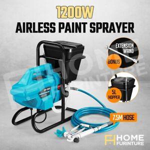 Airless Paint Sprayer Spray Gun Wall Furniture Electric Painting Machine 1200W