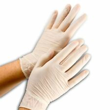 100 Powder Free Gloves Vinyl Foodservice Grade (Non Latex Nitrile Exam) Large