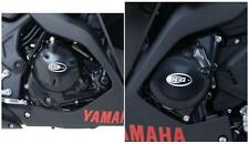 R&G ENGINE CASE COVER KIT (2 COVERS) for YAMAHA YZF-R25, 2014 to 2017
