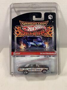 HOT WHEELS DRAG STRIP DEMONS '64 Ford Thunderbolt #14/30 new on blister