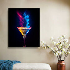 Magic Mixed Drink Poster Painting Framed Prints Bar Pub Decor Wall Art Pictures