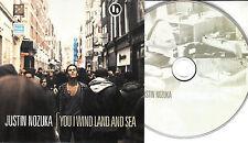 JUSTIN NOZUKA You I Wind Land And Sea 2010 UK 12-trk promo CD