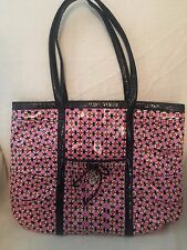 Vera Bradley Frill LOVES ME Take Me With You Tote Shoulder Bag Purse