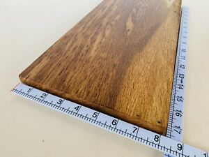 Brown Tiger Oak Rippled WOODTURNING Seasoned Chopping Cheese Board Platter