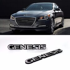 Side Front Trunk Hairline Emblem Point Logo Badge for HYUNDAI 2009-2016 Genesis
