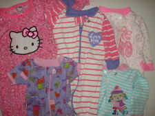 Lot of 5 Pieces Hello Kitty Baby Girl Baby Girl Infant Clothes Size 0-3 months