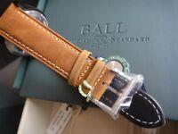 Genuine Ball Engineer II NM2028C 21mm x18mm leather strap band bracelet NEW