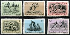 Luxembourg 1952 SG#553-8 Olympic Games MH Set #D63769