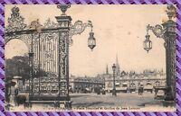 Carte Postale - NANCY - Place Stanislas et grilles de jean lamour