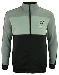 OuterStuff NBA Youth San Antonio Spurs Performance Full Zip Stripe Jacket