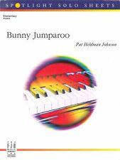 Bunny Jumparoo Elementary Piano Solo By Pat Heldman Johnson