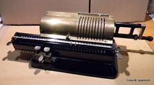 L @ @ K! Original Odhner 19 machine à calculer-Original Odhner 19 Calculator 1923