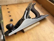 Stanley Bailey Hand Plane No 5 1/2 type 9 Tuned, Sharp, Smooth Bottom, Bench