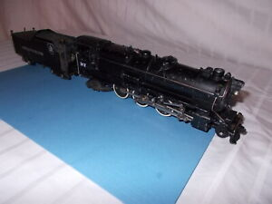 AMERICAN FLYER #312 SMOKE IN TENDER RUNS AND SMOKES LIKE CRAZY! LOT #L-276