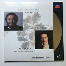 Pavarotti and Levine | PAL | LASERDISC still sealed