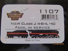 JTC  -  J Class 4-8-4  (Norfolk & Western)