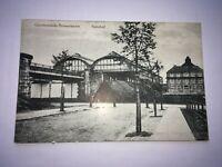 AK Alte Karte Bremerhaven Geestemünde Bahnhof 1920