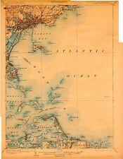 137 Vintage Usgs Maps of Massachusetts Coast on Dvd