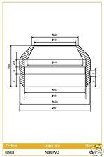 08963 Ariete Par Cubierta para Horquilla Marzocchi diámetro 38 di Tallo