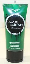 Vixen War Paint SLIME GREEN Semi Permanent Hair Colour 100mL