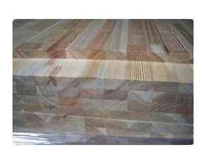 Leimholz Platte 24x1200 mm Sib. Lärche z.B. für Möbel,Tresen, Türen, Regale usw.