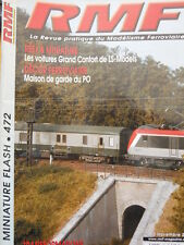 RMF Rail Miniature Flash n°472 2004 Le derniers fourgons de la la SNCF  [TR.33]