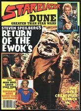 Starblazer 4 Magazine Star Trek Star Wars James Bond 007 Dune Terminator Movie