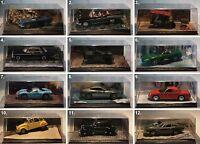 De Agostini-James Bond Collection-Scale 1:43-Modell-Sammlung-PC-Vitrine-Diorama