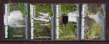 PAPUA NEW GUINEA 2011 WATERFALLS SET OF 4 UNMOUNTED MINT, MNH