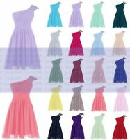 New Bridesmaid Dress Formal Short Evening Cocktail Ball Gown Party Prom Dresses