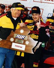 DAVEY ALLISON & BOBBY ALLISON VICTORY LANE 1993 RICHMOND 8X10 GLOSSY PHOTO #E3