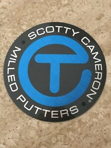 """SCOTTY CAMERON """"LARGE CT STICKER - GREY / TUR"""" 3 1/4"""" AND NWT!"""