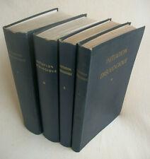 Initiation Théologique par un groupe de Théologiens Ed 1957-1961 4 livres 49€90