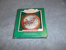 Hallmark 1986 Collector's Series Cedar Waxwing 5th In Holiday Wildlife Series