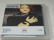 Daniel Taylor THE VOICE OF BACH Vocal Classical Music CD Choir Theatre Early