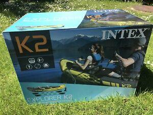 intex k2 explorer Brand New In Sealed Box 📦 🚚🚚🚚🚚🚚🍇