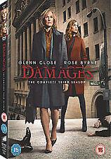 Damages - Series 3 - Complete (DVD, 2010, 3-Disc Set) - Brand New & Sealed