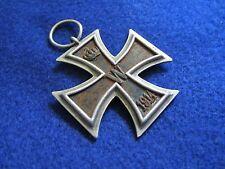 RARE Authentic Original WW1 1914 German Second Class Medal Iron Cross