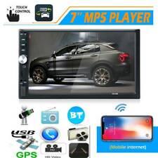 7012B Double DIN In Dash Car Stereo HD 7 inch Screen Bluetooth Radio Head Unit