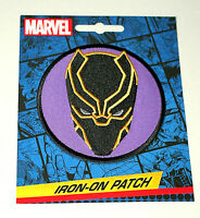 Official Marvel Comics Black Panther Iron-On Cloth Jacket Patch New in Package