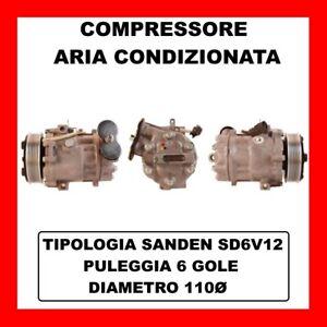 COMPRESSORE AC 13717 FIAT PUNTO VAN 1.3 D MULTIJET DAL 2009 KW70 CV95 199B1.000