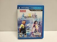 Final Fantasy X Remaster (PS VITA) with Original Case TESTED