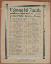 GIUSEPPE GABETTI LA MARCIA REALE ESERCITO ITALIANO 1930 PIANOFORTE PIANO MUSICA