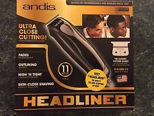 Andis Headliner Haircutting Kit Home Clippers Shaving Fades Outlining Beard Hair
