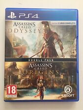 ASSASSIN'S CREED ORIGINS & ODYSSEY DOUBLE PACK - JEUX PS4 PLAYSTATION 4