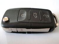 VW Volkswagen MK5 Golf Caddy Jetta EOS remote flip key fob