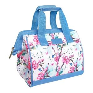 Sachi Insulated Lunch Bag Picnic Case Storage Portable Carry Tote Spring Blossom